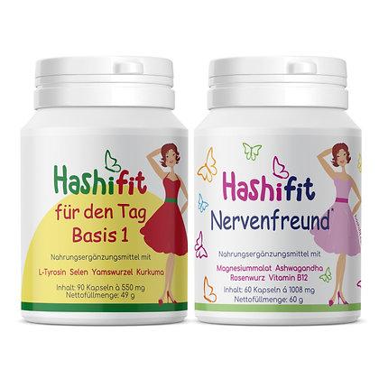 Hashifit spar bundle Basis1 für den Tag Nervenfreund zwei für einen starken Alltag