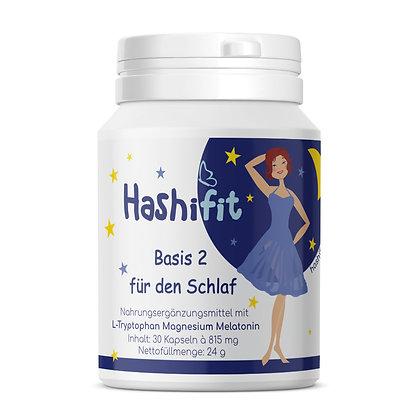Hashifit Basis 2 für den Schlaf Kapseln in einer Dose mit praktischem Klappdeckel EAN-4260563129075 PZN-16741767