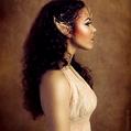Portrait of an elf maiden