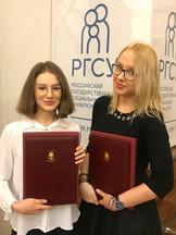 Дерюшкина Анастасия (слева) и Епишина Юлия (справа) | Бизнес-информатика – 2020