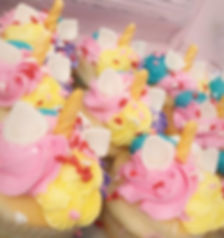 Unicorn cupcakes AVAILABLE to buy out of