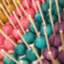 Glitter cake pops ✨#kimsconfections#cake