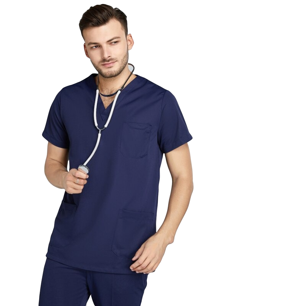 Short-Sleeve Scrubs Men & Unisex