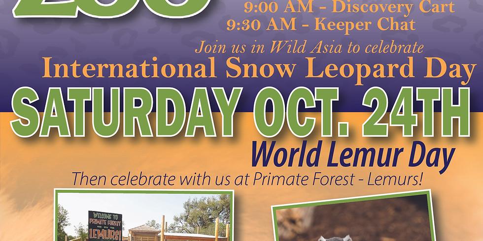 International Snow Leopard Day & World Lemur Day at LRZ!