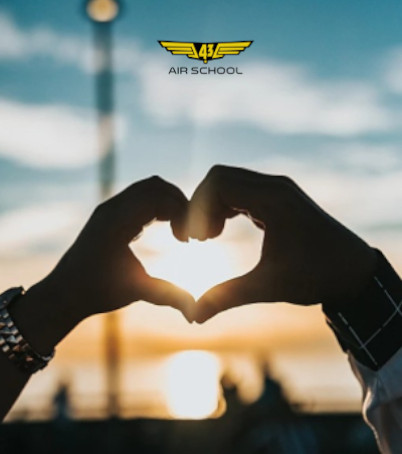 Love is in the air. Can pilots have relationships?