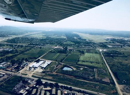 An introduction flight to pilot training