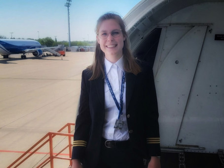 Flying a B737 at age 20
