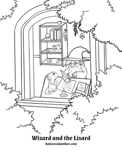 [001] Coloring Page
