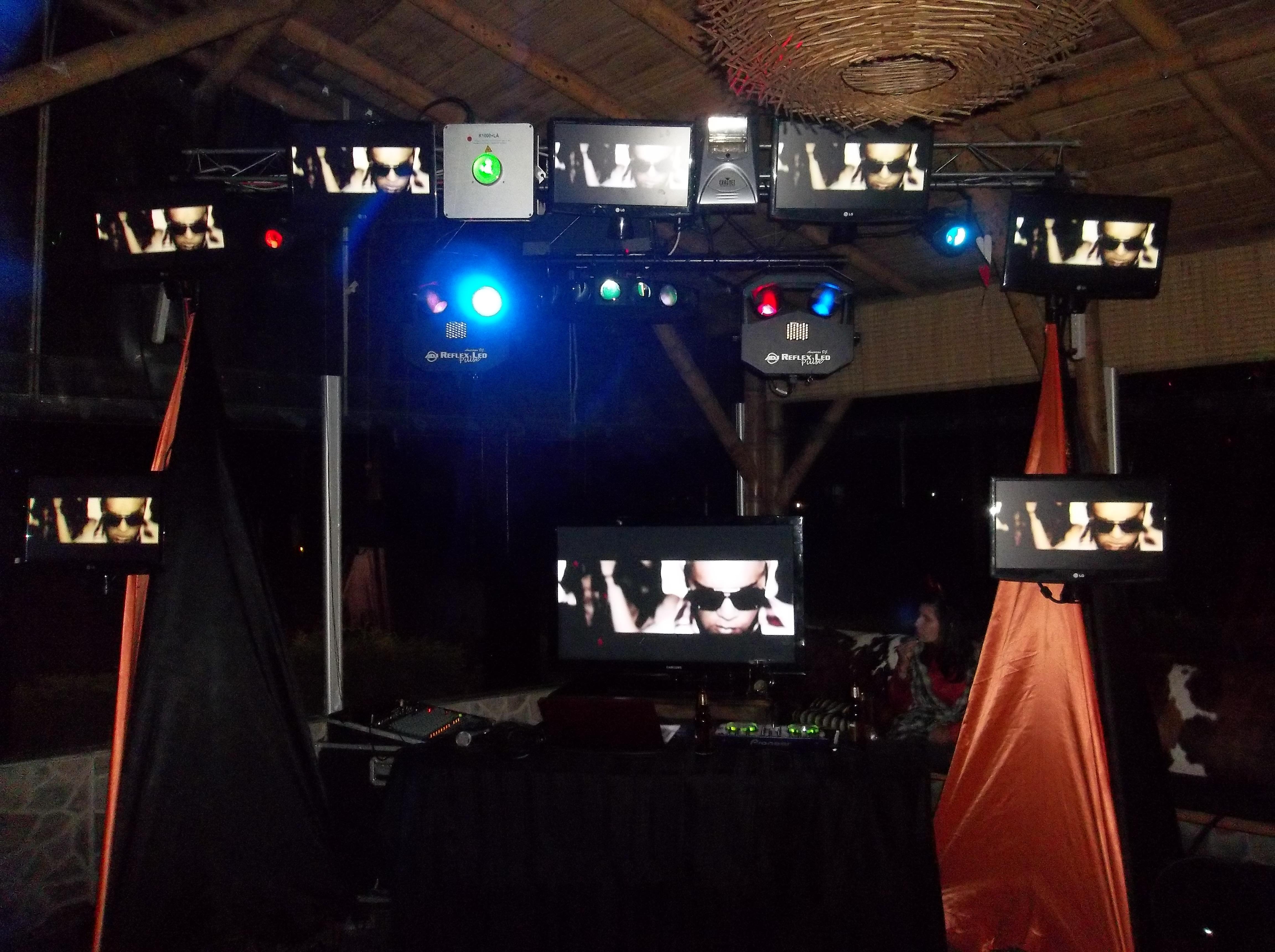 Alquiler de sonido luces y pantallas para fiestas y eventos 1