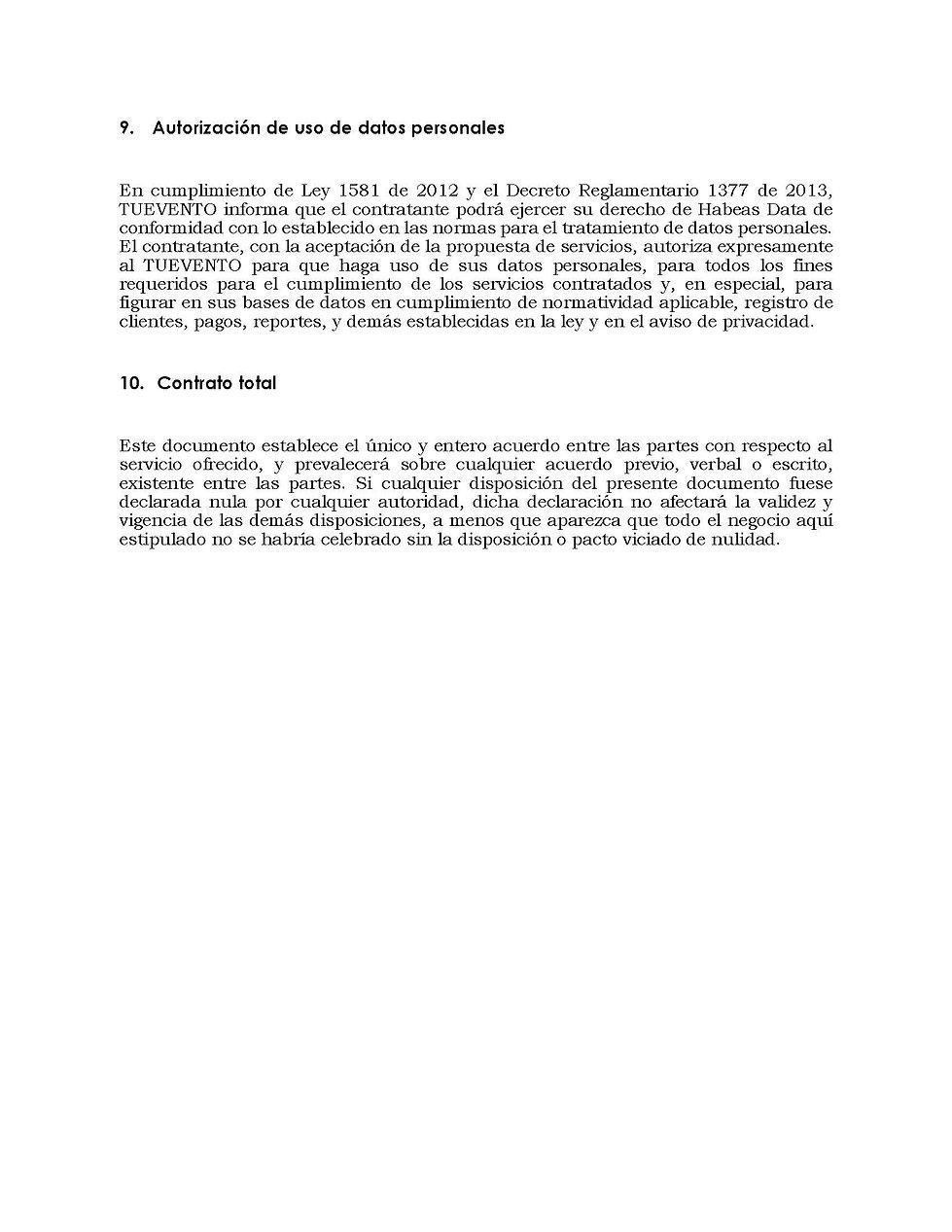 Terminos y condiciones del servicio v2 (