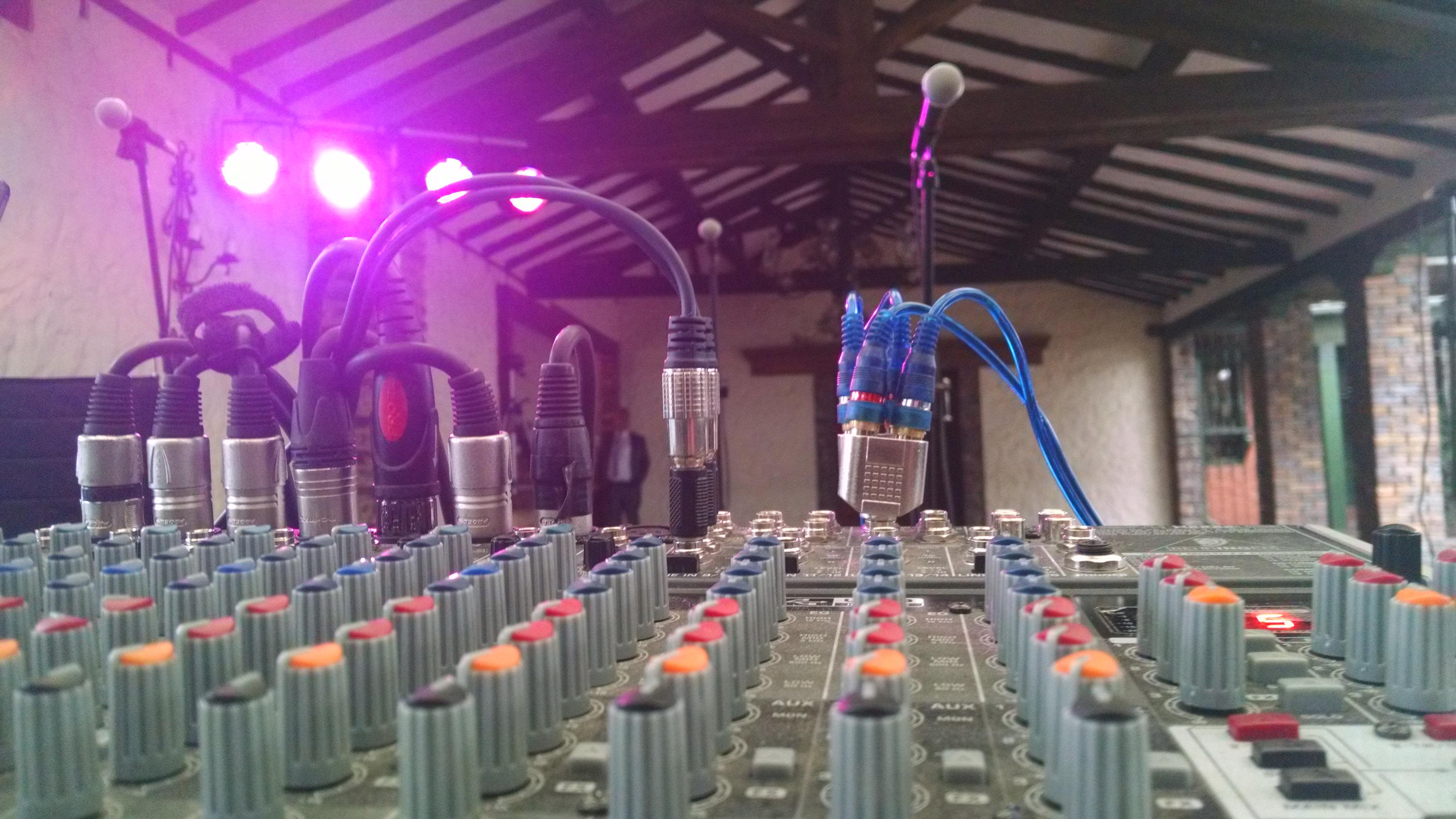 consola de microfonos 2
