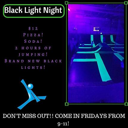 Black Light Night