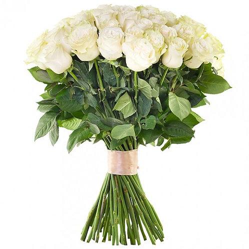 Букет белых роз. 012