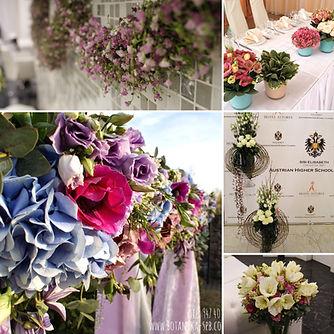 Ботаника СПб, Оформление цветами, цветочная арка, букет невесты, оформление мероприятий.