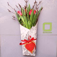 цветы, букеты, 8 марта, женский день, тюльпаны, нарциссы, гиацинты, весенние