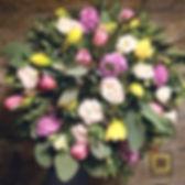 весенние цветы. букет на 8 иарта спб.