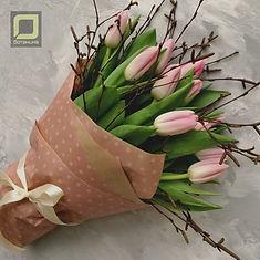 Букет тюльпанов. Доставка цветов спб.