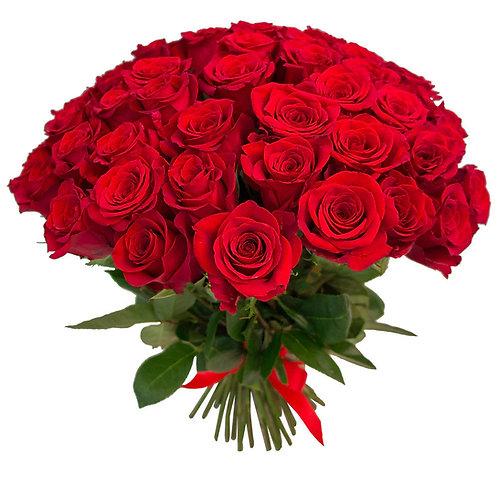 Букет красных роз. 013