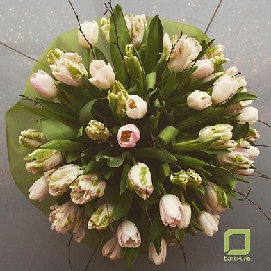 Букет из тюльпанов, женский день, 8 марта, весенние, цветы