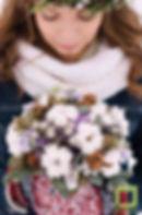 Ботаника, цветочная мастерская, Букет невесты, хлопок, свадебное оформление, цветочный венок, красивая свадьба