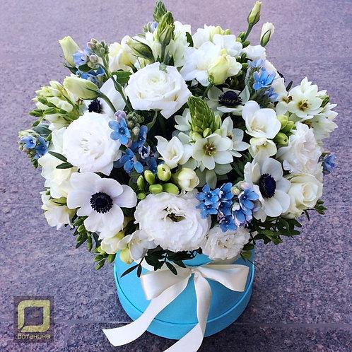 Белый букет нежных цветов. 116.