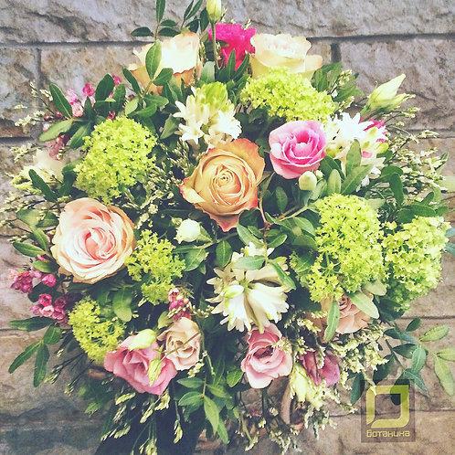 Нежный букет цветов. 037