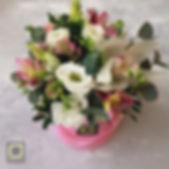 цветы в коробке спб. букет на 8 марта спб.