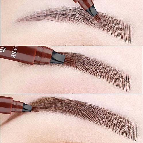 Eyebrow Waterproof Fork Tip Pen