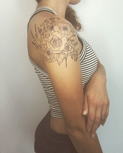 First Rose tattoo