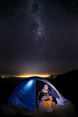 Gavin stars camping