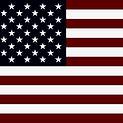 Dark Squre American Flag
