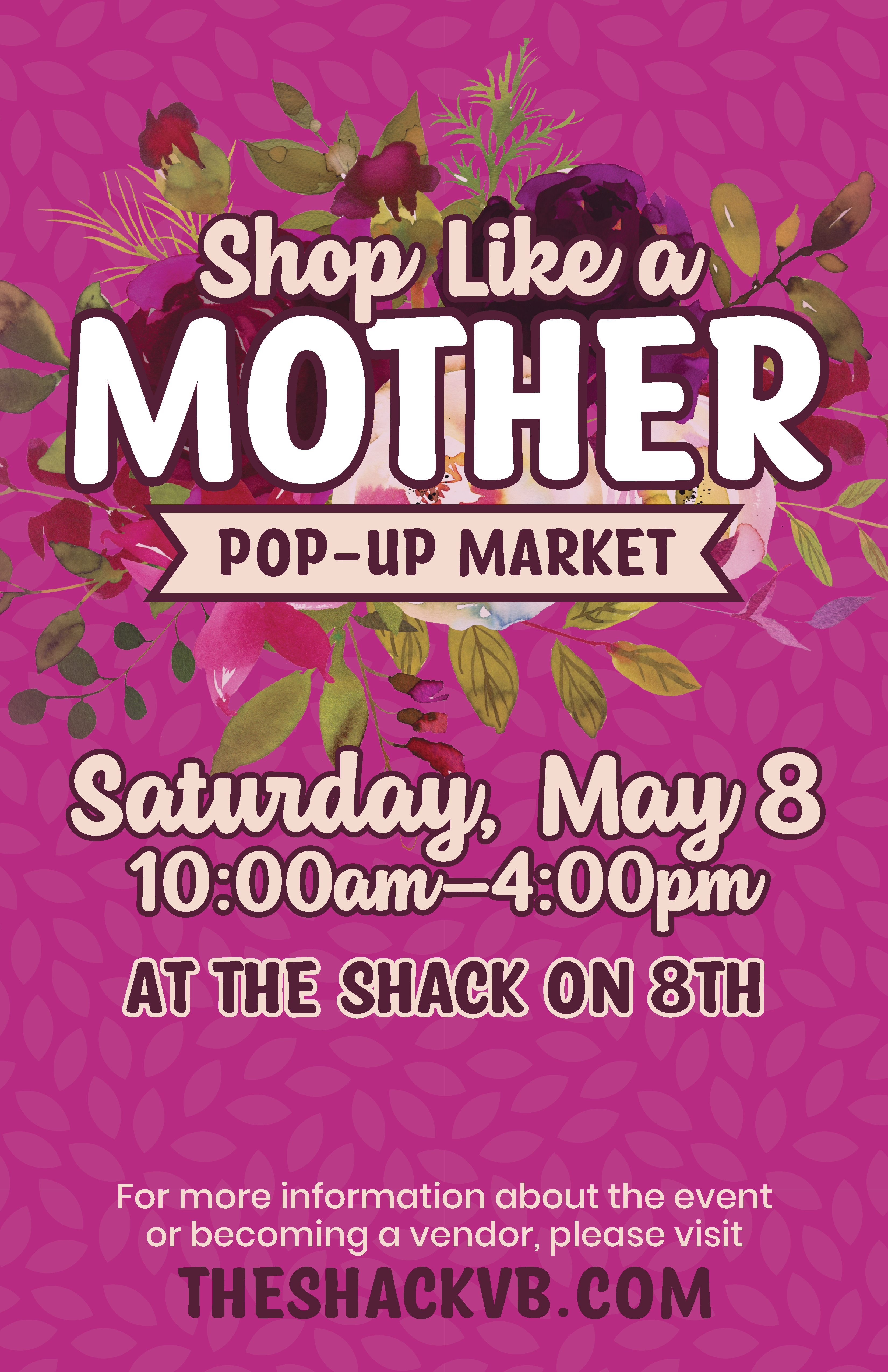 21_Shack Mother's Day Market Poster