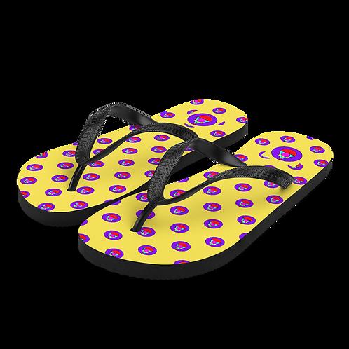 Rock Mercury Flip-Flops