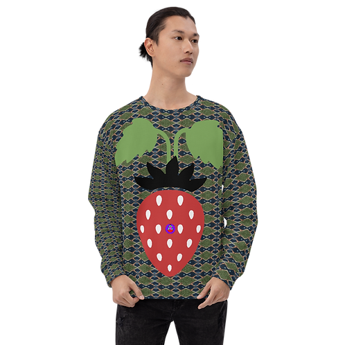 Rock Mercury Berry Prick Unisex Sweatshirt