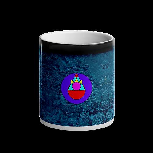 Rock Mercury Drip Glossy Magic Mug