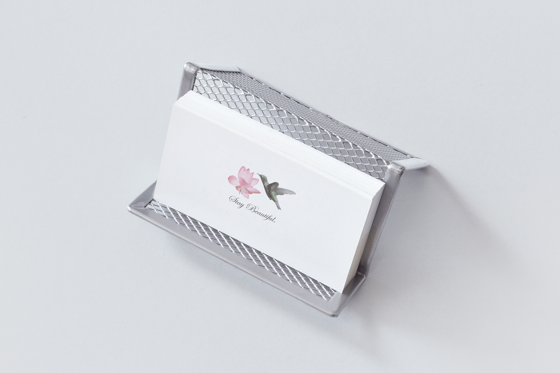 Stay Beautiful Business Card