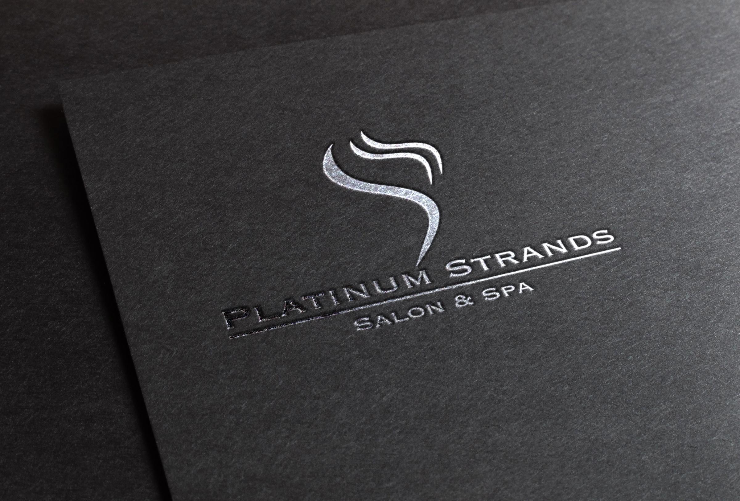 Platinum Strands Logo