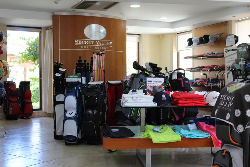 Secret Valley Golf Club Pro Shop
