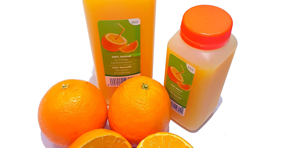 Jus d'oranges frais 25cl (pressé)