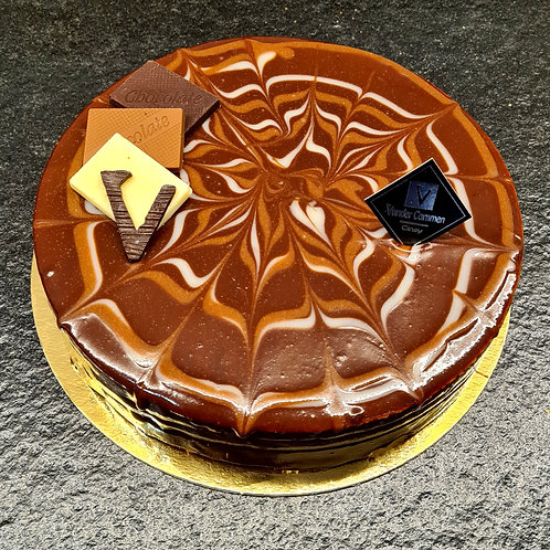 Gâteau 3 chocolats 5 p