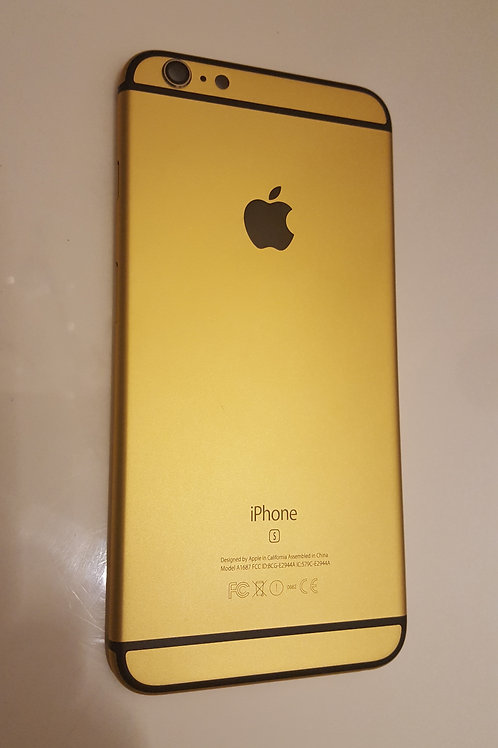 iPhone 6 Plus Backcover GOLD inkl. Kleinteile