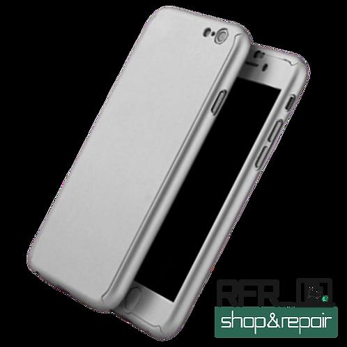 360° Hard Case Hülle für iPhone 7 / 8 GRAU