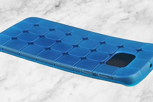 RUBIK TPU Soft Hülle für Galaxy S7 Edge BLAU