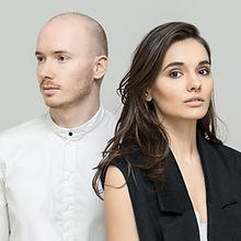 Couple studio photographie