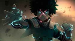 Izuku Midoriya, one for all!