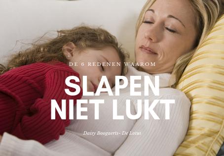 De 6 redenen waarom je kind niet slapen wil