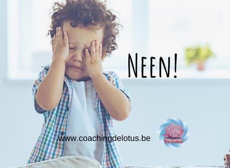 Je kind leren omgaan met 'neen'