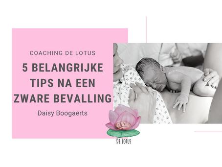 5 belangrijke tips na een zware bevalling