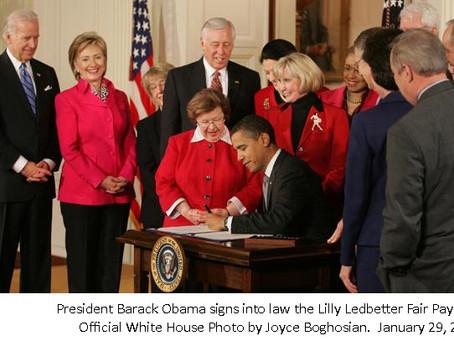 Thank a Democrat: Lilly Ledbetter Fair Pay Act