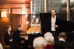 Concert in Pembroke Old Library